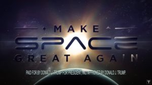 trump campaign pulls space themed ad after complaints