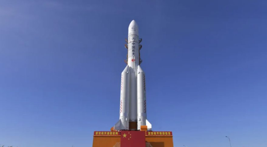 China uses missiles for the country's first Mars mission