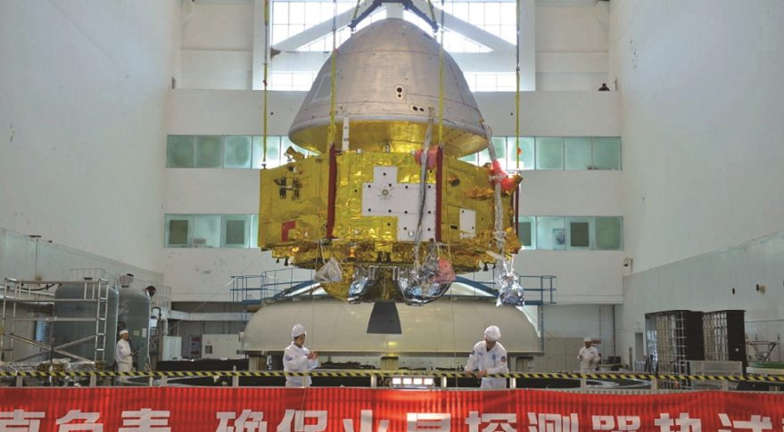 China raises the stakes with second Mars attempt