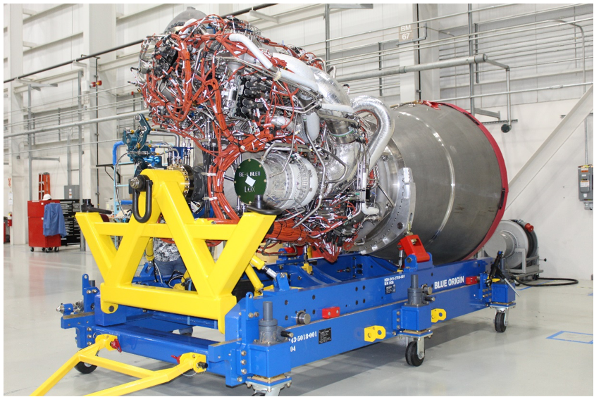 Blue Origin delivers the first BE-4 engine to United Launch Alliance - SpaceNews
