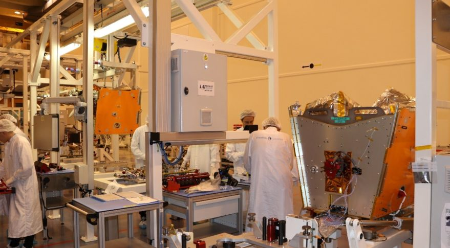Bankruptcy court frees payment to OneWeb Satellites to restart satellite manufacturing