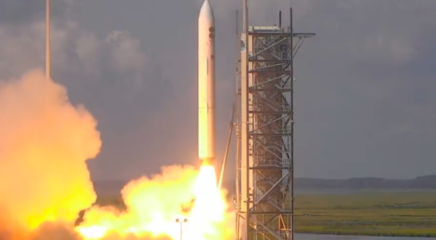 Rocket with classified payloads launches from Eastern Shore