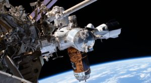 Crew Dragon docked to ISS