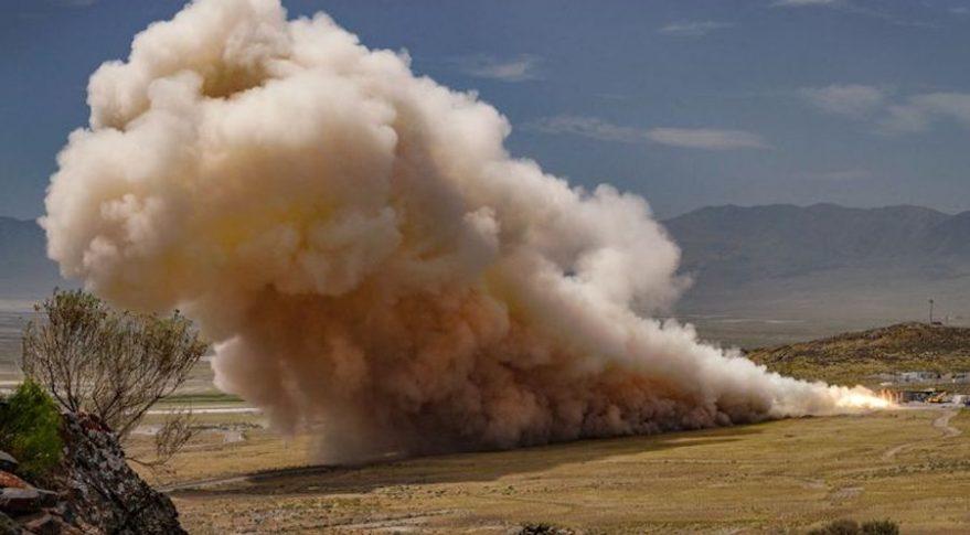 Northrop Grumman completes ground test of solid booster for ULA's Vulcan Centaur