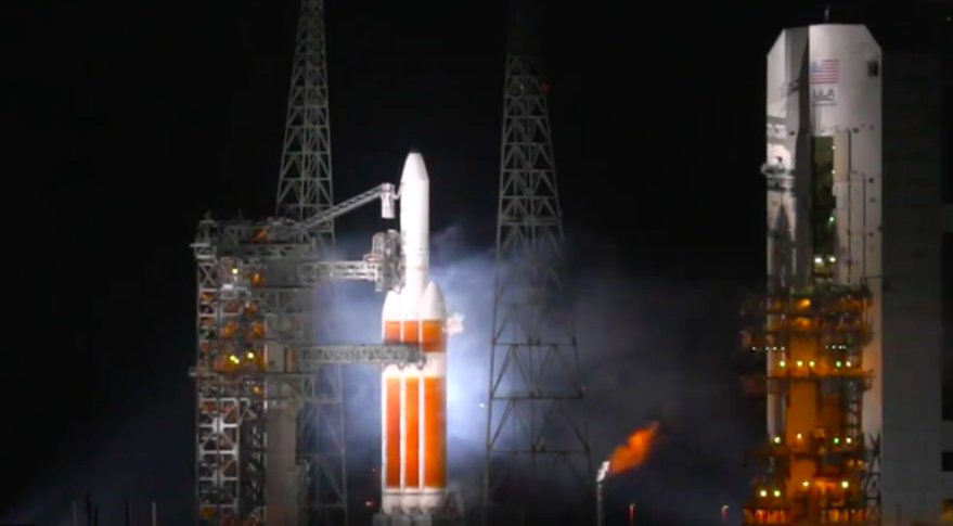 ULA launch of NRO satellite on hold after Delta 4 Heavy hot fire abort