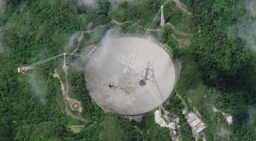 NSF to decommission Arecibo radio telescope