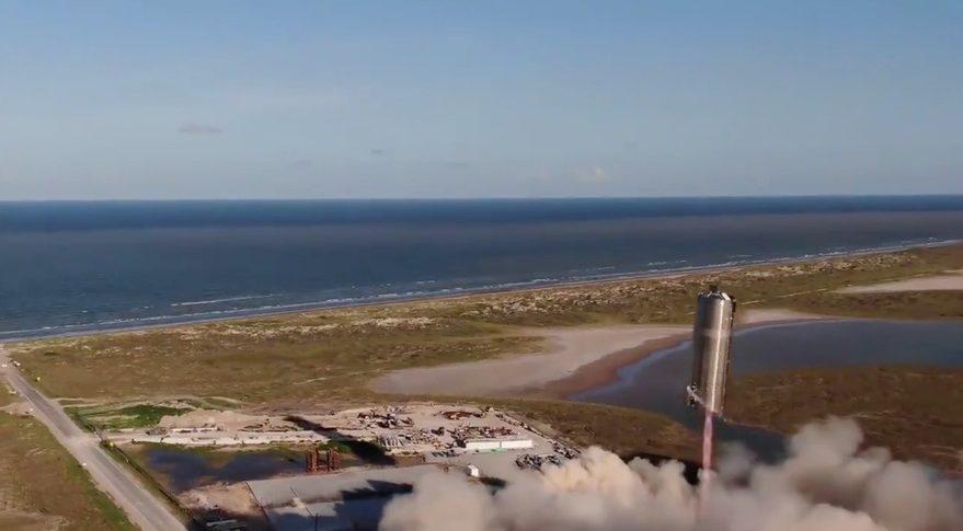 Starship test flight