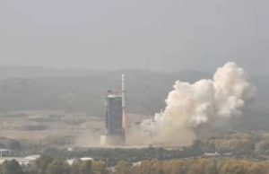 Secretive Chinese launch of a Long March 4B from Taiyuan, Sept. 26, 2020.