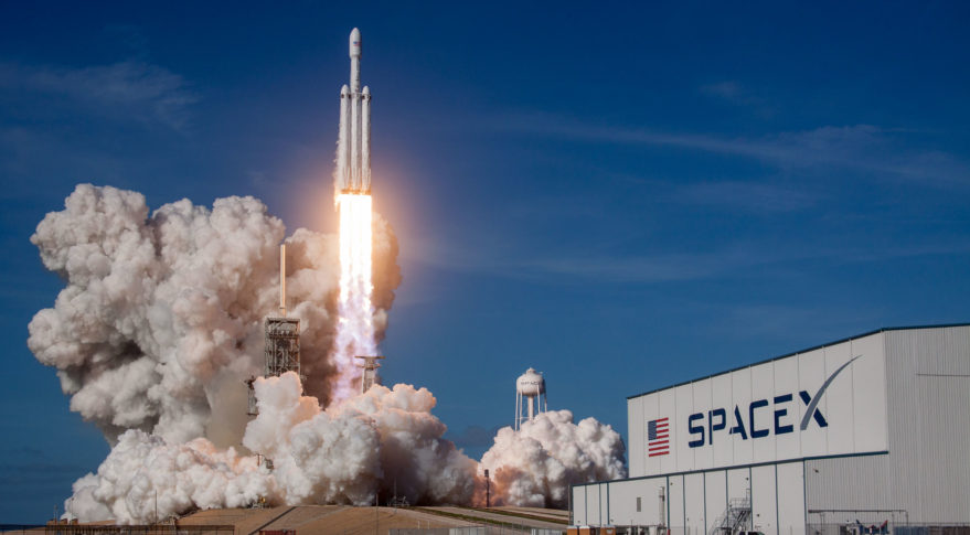 U.S. Transportation Command to study use of SpaceX rockets to move cargo around the world