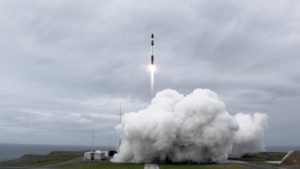 Electron launch