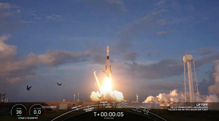 SpaceX launches Starlink satellites as it deorbits original ones