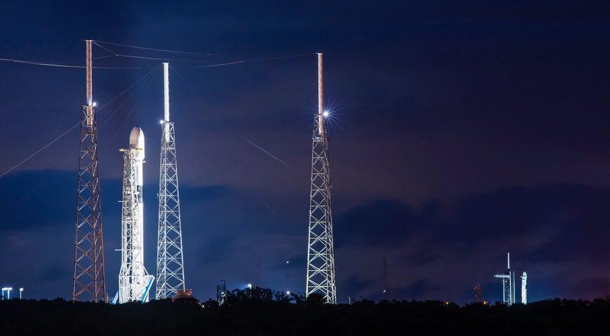 Two Falcon 9s