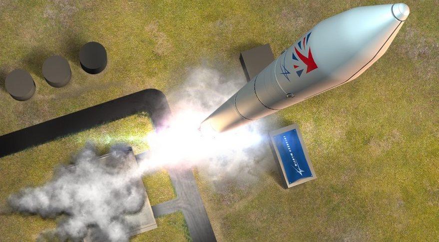 Lockheed Martin Shetland launch
