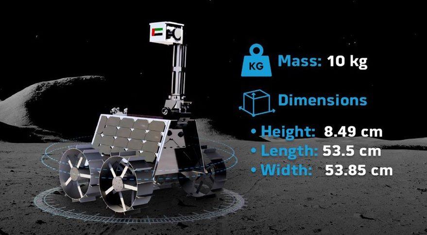 UAE lunar rover