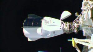 Crew-1 docking