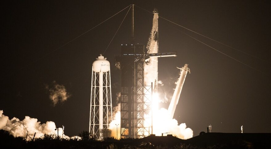 SpaceX launches first operational Crew Dragon mission to ISS