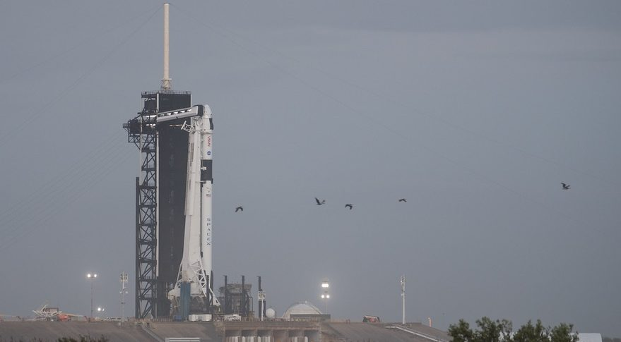 SpaceX-NASA Delay Historic Astronaut Launch Due To Poor Weather