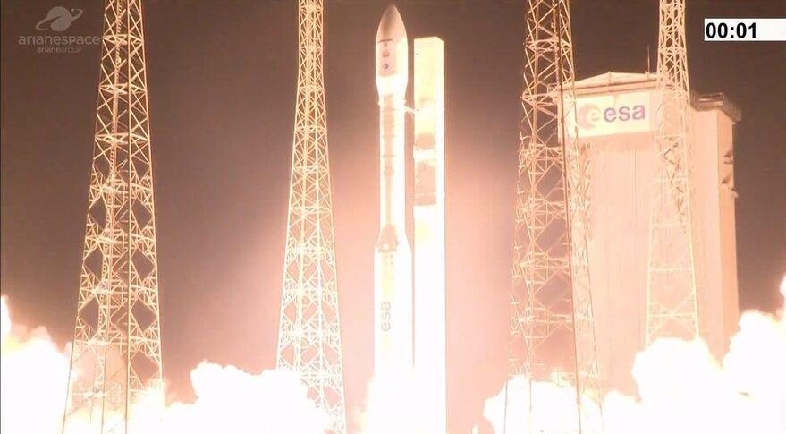 Vega VV17 liftoff