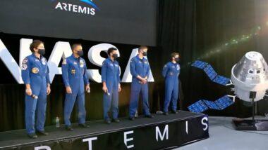 Artemis Team astronauts