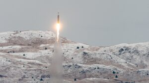 Astra Rocket 3.2 launch