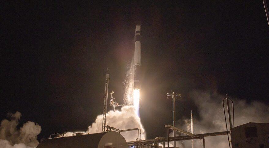 Rocket Lab launches Japanese radar imaging satellite