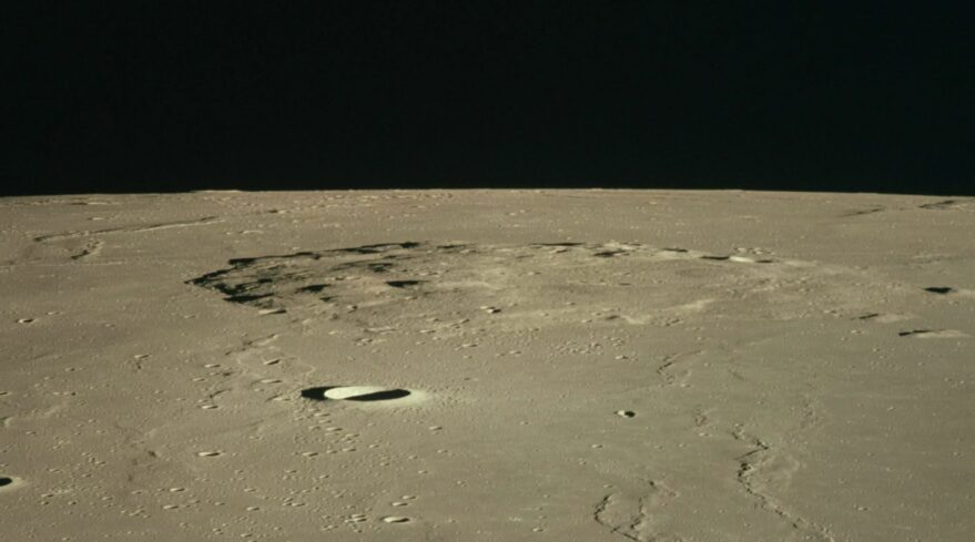 An image of Mons Rümker on the Moon captured by Apollo 15 astronauts in 1971.