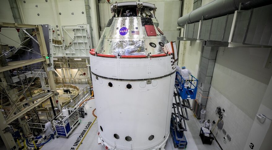 Orion for Artemis 1