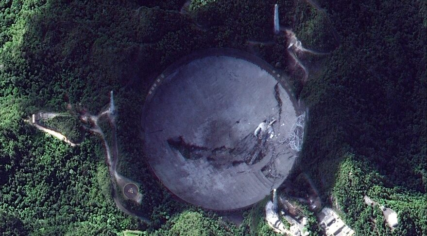 Arecibo after collapse