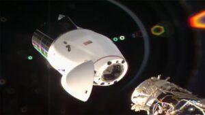 CRS-21 Dragon undocking