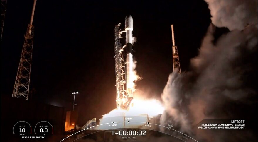Falcon 9 Turksat 5A