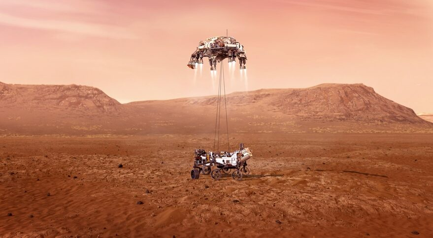 Mars 2020 landing