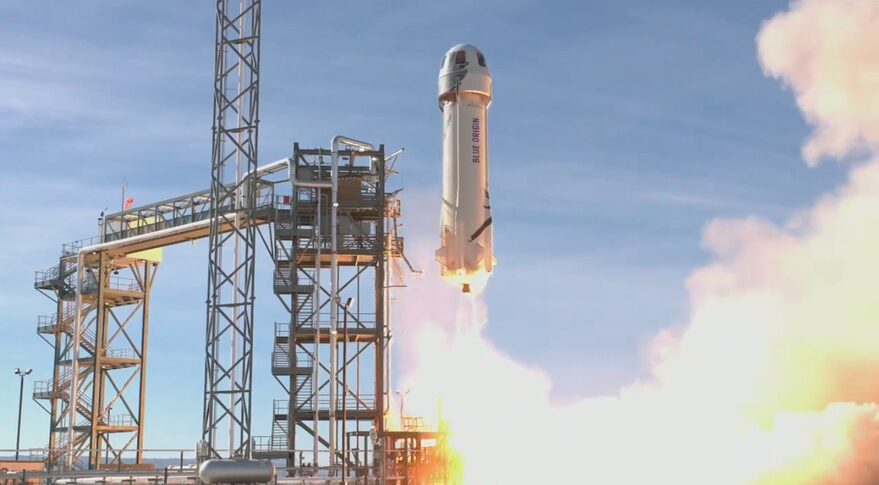 NS-14 liftoff