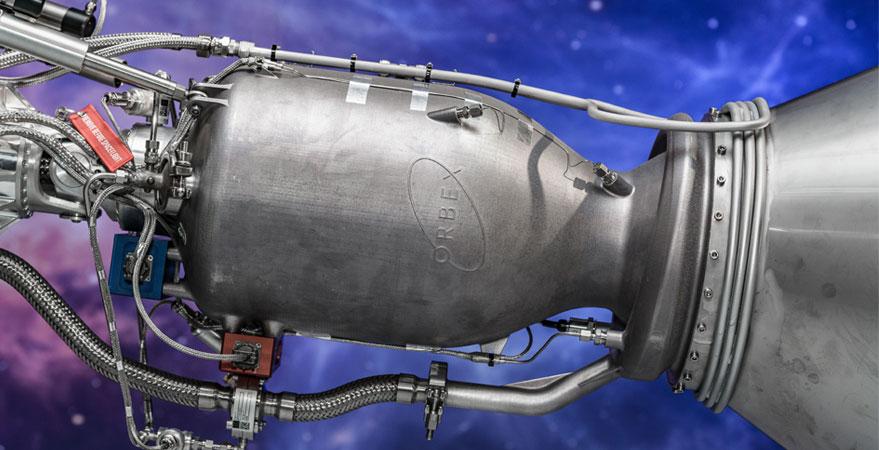 Photo of Orbex rocket engine