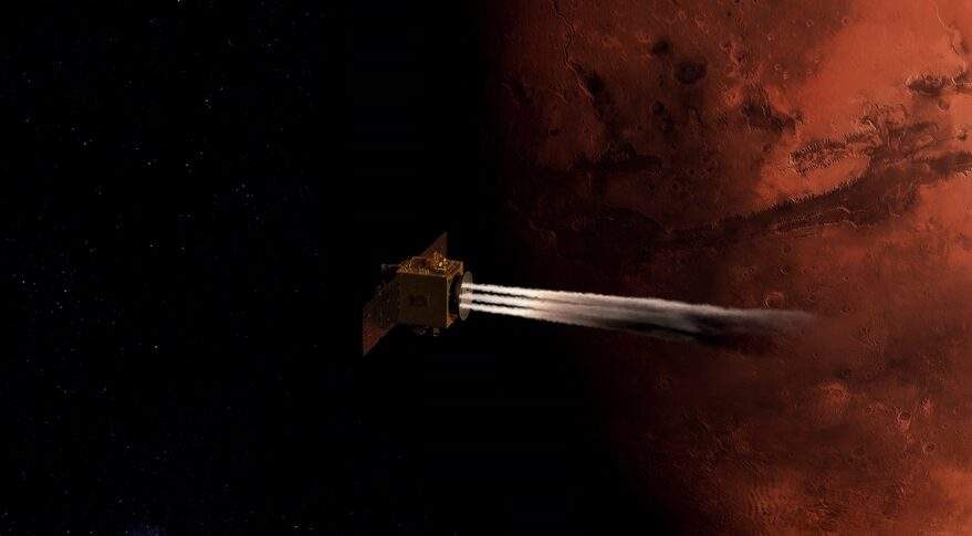 Mars Orbit Insertion of Hope