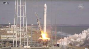 Antares NG-15 Cygnus launch