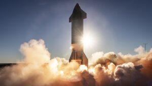 Starship SN8 liftoff