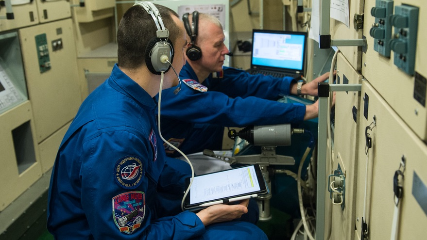 It is increasingly likely that a NASA astronaut will fly on a Soyuz mission to the space station in April as NASA finalizes an agreement with Roscosmos.