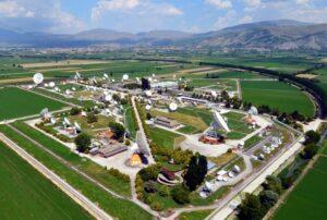 Telespazio's Space Centre in Fucino, Italy.