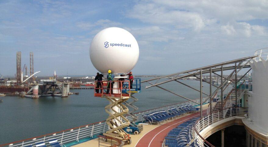 Speedcast's cruise operations.