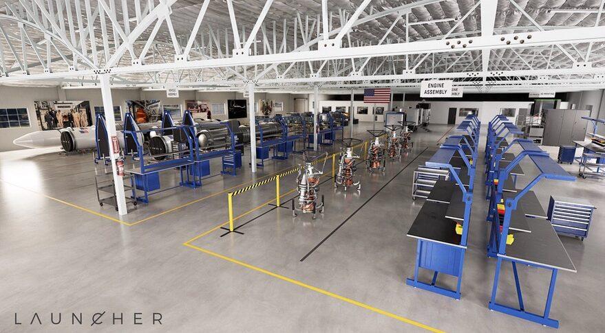 Launcher factory floor