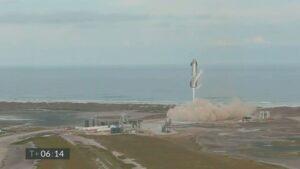 SN10 landing