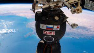 Soyuz MS-17 at ISS