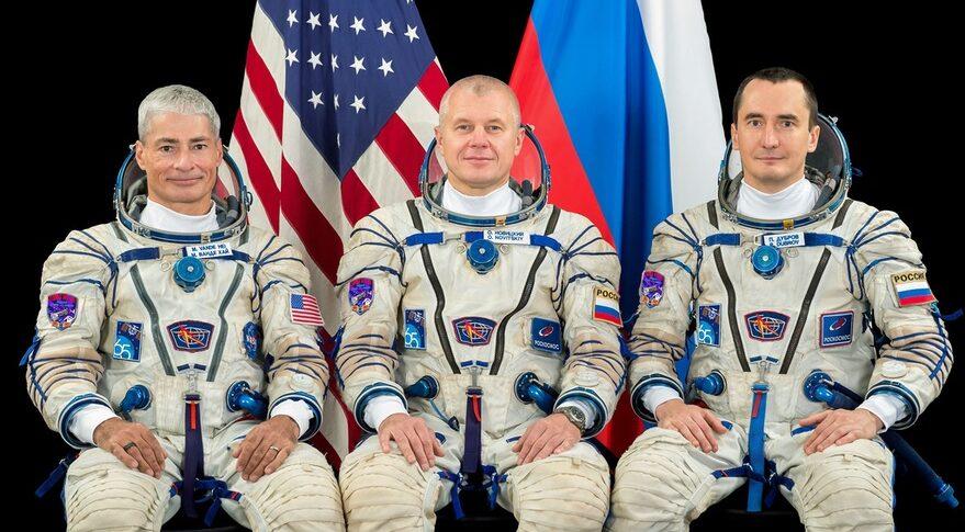 Soyuz MS-18 crew