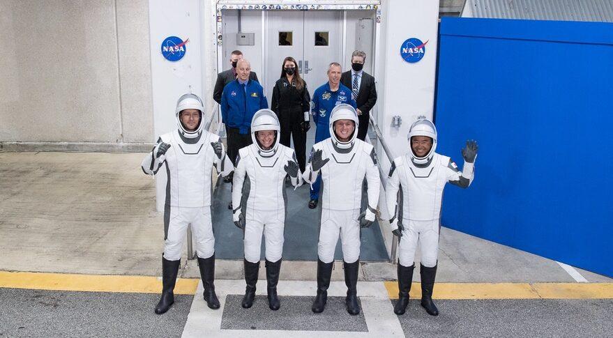 Crew-2 astronauts