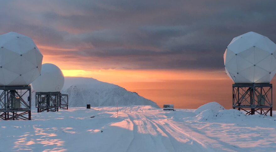 The OneWeb gateway in Svalbard