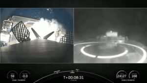 Falocn 9 first stage landing