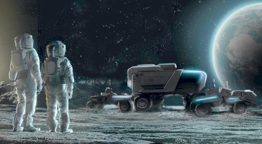 Lockheed/GM lunar rover