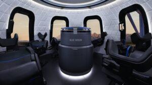 New Shepard interior