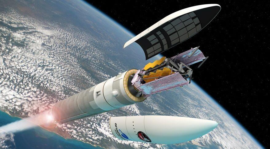 Ariane 5 launch of JWST