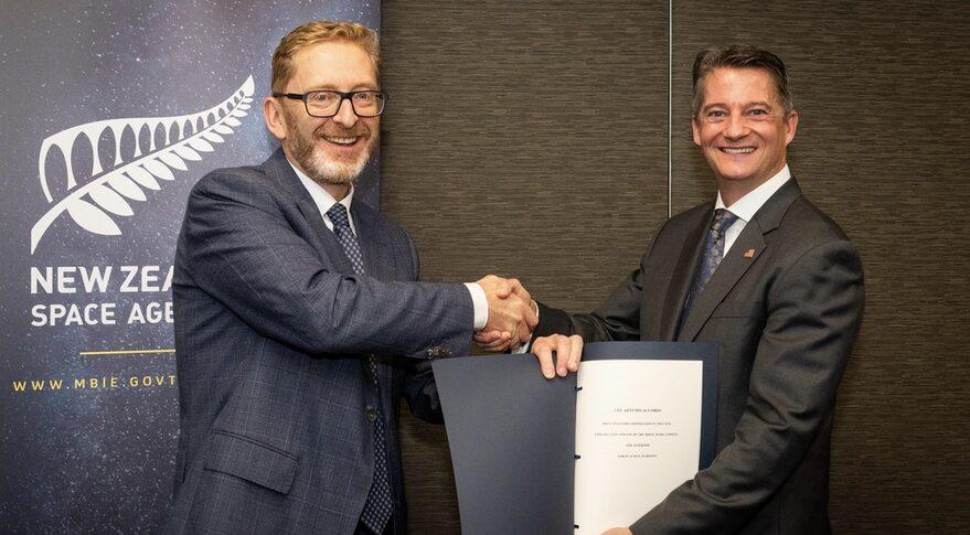 New Zealand Artemis Accords